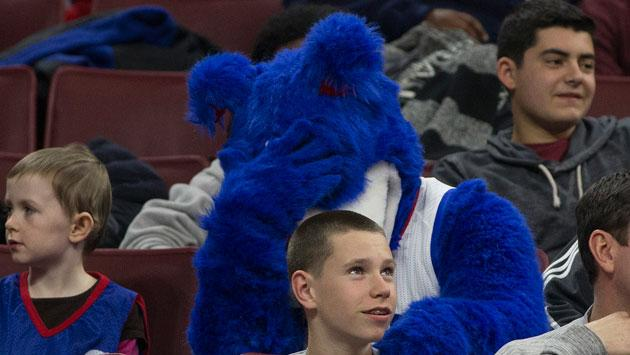 Sad Franklin (76ers Mascot)